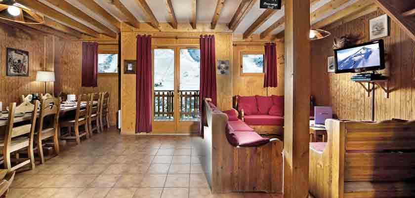 Chalet Perce Neige lounge